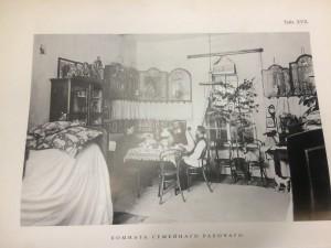 Комната в общежитии промышленников Рябушинских